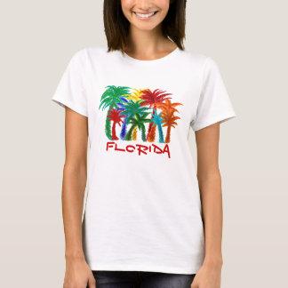 Camisa da palmeira de Florida