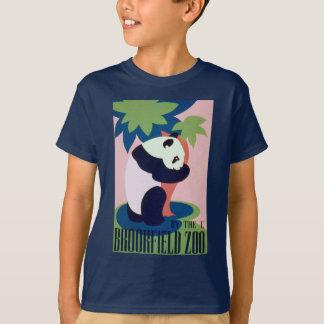 Camisa da panda T do jardim zoológico de WPA