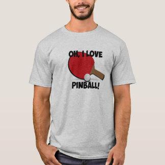 Camisa da paródia do pinball do feiticeiro de Pong