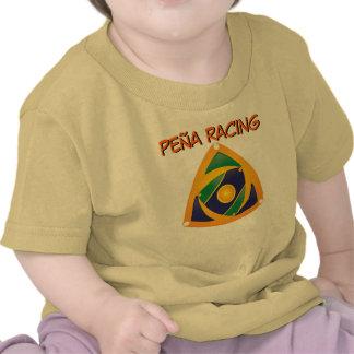 Camisa da parte do bebê da equipe de competência d t-shirt