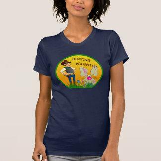 Camisa da páscoa de Wabbits da caça Tshirts