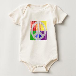 Camisa da paz do arco-íris - escolha o estilo & a