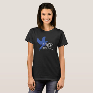 Camisa da phi do Zeta de Fiiner desde 2000 beta
