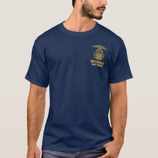 Camisa da pinta da âncora/asas do esquadrão de