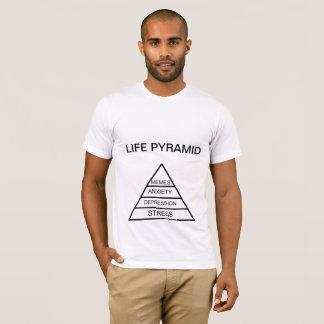 Camisa da pirâmide da vida