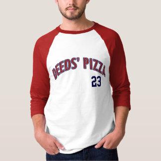 Camisa da pizza das ações
