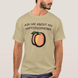 Camisa da Poeira de papel-um-fobia T do pêssego