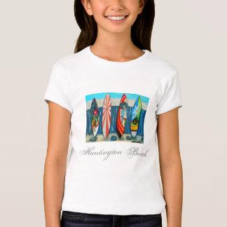 Camisa da praia do surfista camisetas