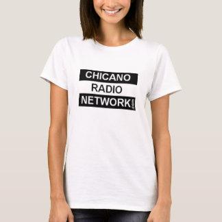 Camisa da rede de rádio do Chicano para as