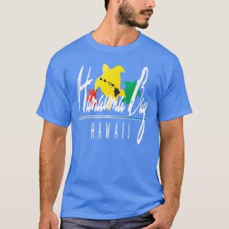Camisa da reggae de Havaí da baía de Hanauma Camisetas