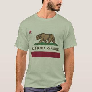 Camisa da república de Califórnia