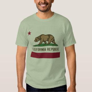 Camisa da república de Califórnia Camisetas