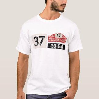 Camisa da reunião T de Monte - de Carlo
