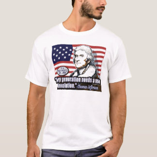 Camisa da revolução de Jefferson