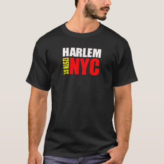 Camisa da rua NYC de Harlem 125th