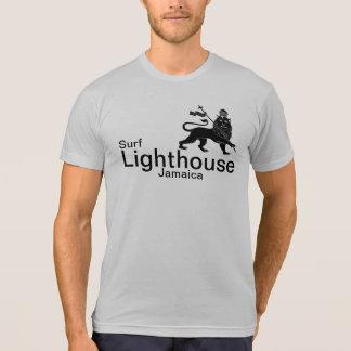 Camisa da ruptura do surf de Jamaica do farol Camiseta