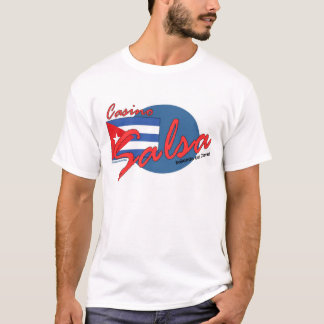 Camisa da salsa de Cuba