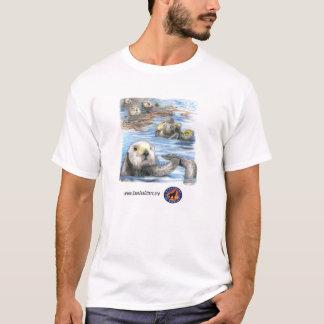Camisa da semana da consciência da lontra de mar