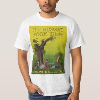 Camisa da semana de livro de 1956 crianças