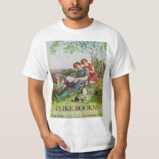 Camisa da semana de livro de 1962 crianças