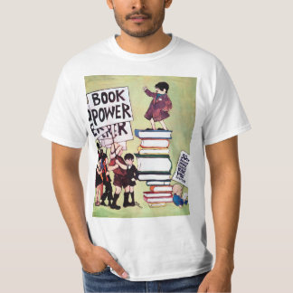 Camisa da semana de livro de 1969 crianças