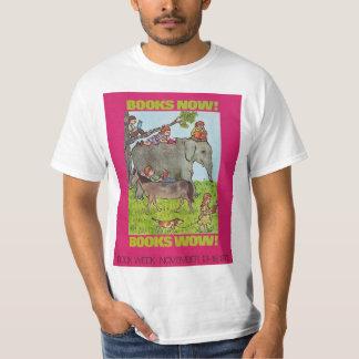 Camisa da semana de livro de 1972 crianças
