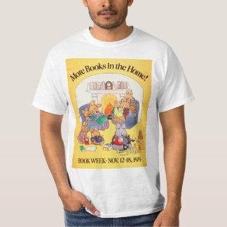 Camisa da semana de livro de 1979 crianças