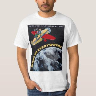 Camisa da semana de livro de 1998 crianças