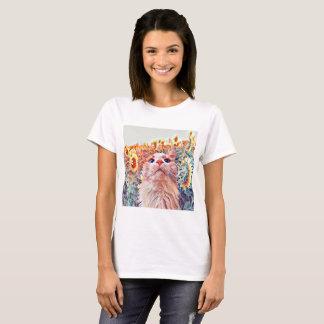 Camisa da sentinela T do girassol