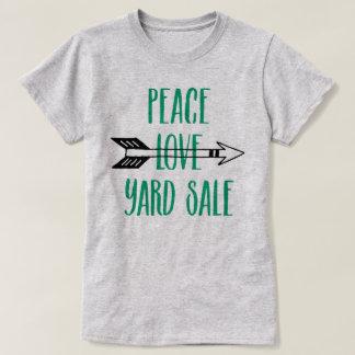 Camisa da seta da venda de jardim do amor da paz