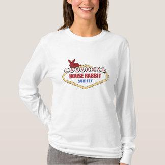 Camisa da sociedade do coelho da casa de Las Vegas