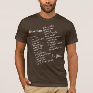 Camisa da submissão de BJJ