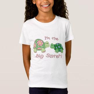 Camisa da tartaruga da irmã mais velha (a um irmão