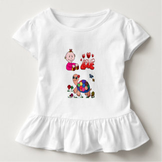 camisa da tartaruga de mar t do bebê