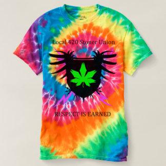 Camisa da tintura do laço da união do Stoner