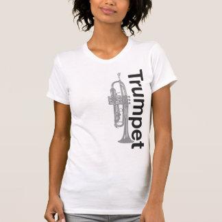 Camisa da trombeta das mulheres afligidas