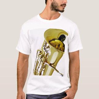 Camisa da tuba T pronta para personalizar com suas