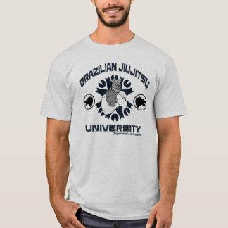 Camisa da universidade de JiuJitsu do brasileiro