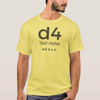 Camisa da xadrez D4: Série 1