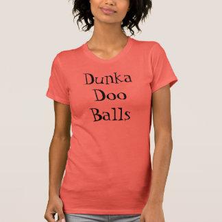 Camisa das bolas de Dunka Doo