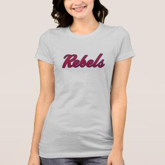 Camisa das canvas T de Bella dos rebeldes das