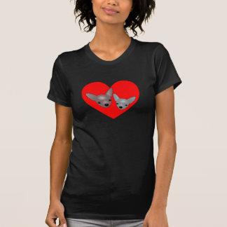 Camisa das chihuahuas do amor