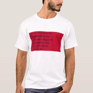 Camisa das citações do 4:20 dos princípios