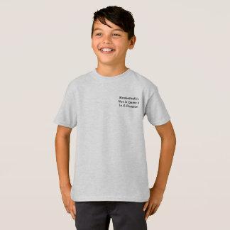 Camisa das citações do basquetebol