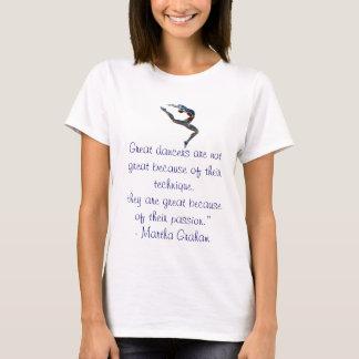 Camisa das citações do dançarino