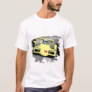Camisa das corridas de carros T