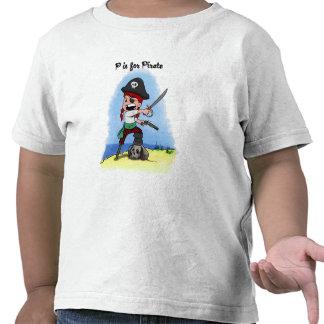 Camisa das crianças de Lucy do pirata T-shirt