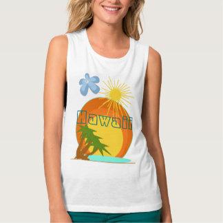 Camisa das férias do destino - Hawai… -