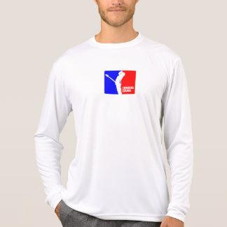 Camisa das guardas de cruzamento de MIcrofiber Tshirt
