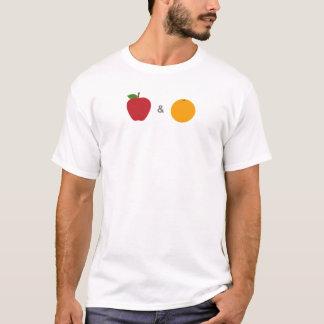 Camisa das maçãs & das laranjas